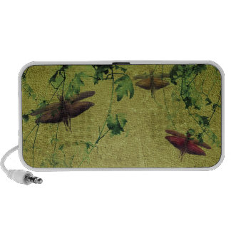 Flora and Fauna Laptop Speakers