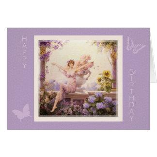 Flora by Louise Abbema Birthday Card