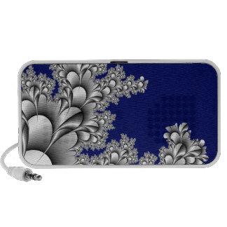 Flora Flower Blue Background Travelling Speaker