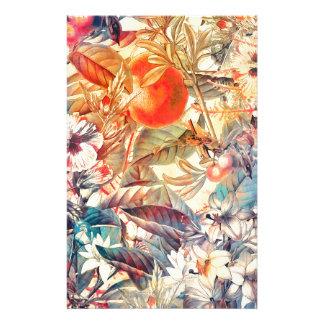 flora flowers stationery