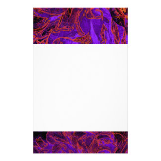 Flora Forma 28 Bright Floral Abstract Stationery Paper