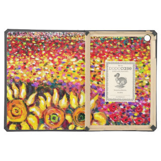 FLORA IN TUSCANY/ Fields ,Poppies and Sunflowers iPad Air Covers