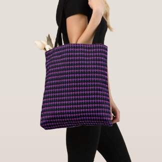 Flora-Mod-Grape-Totes-Shoulder-Bags Tote Bag