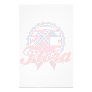 Flora MS Stationery Design