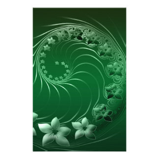 Flora Nature Color Stationery Paper