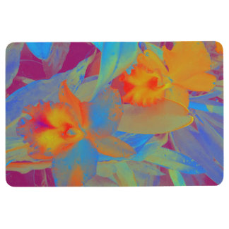 Flora of Hawaii Floor Mat