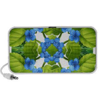 Flora pattern mp3 speaker