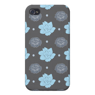 flora pern grey theme case for iPhone 4