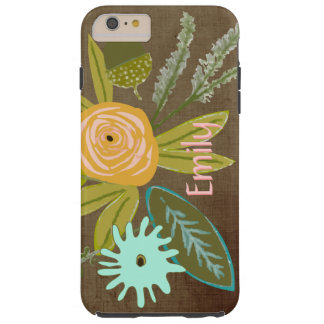 Flora Personalized iphone 6 Phone case