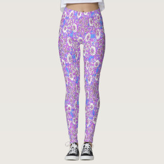 FLORABUNDER PRINT LADIES LEGGINGS