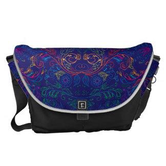 Floradore - Blue Commuter Bag