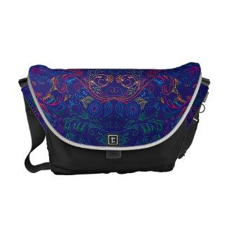Floradore - Blue Courier Bag