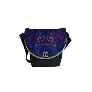 Floradore - Blue Courier Bags