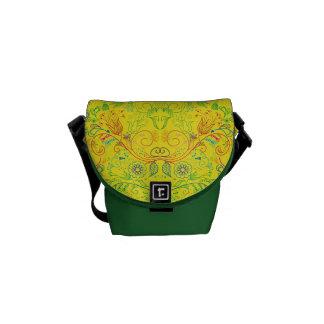 Floradore - Yellow Courier Bags