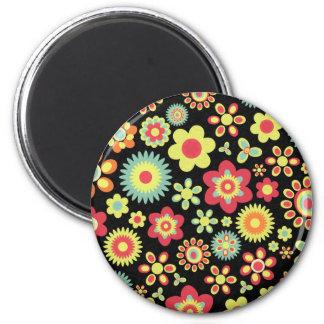 Floral 100113 magnet