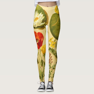floral 210 leggings