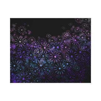 Floral abstract. canvas print