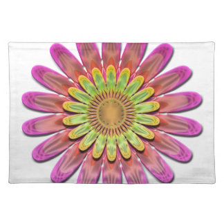 Floral abstract. placemat