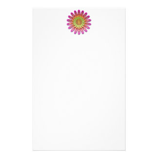 Floral abstract. stationery