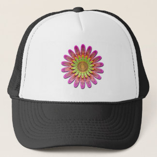 Floral abstract. trucker hat