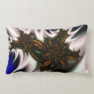 Floral aircraft throw cushion