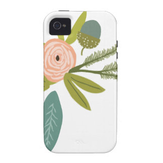 Floral and Fauna iPhone 4/4S Case