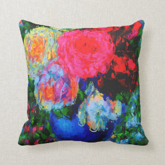 Floral and Vase Still Life Cushion