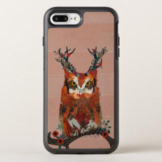 FLORAL ANTLER OWL Art OtterBox Symmetry iPhone 8 Plus/7 Plus Case