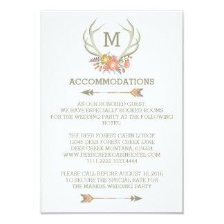 """FLORAL ANTLERS 