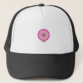 Floral Arc Reactor Trucker Hat