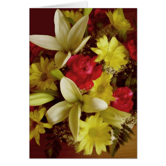 Floral Arrangement 313a Card