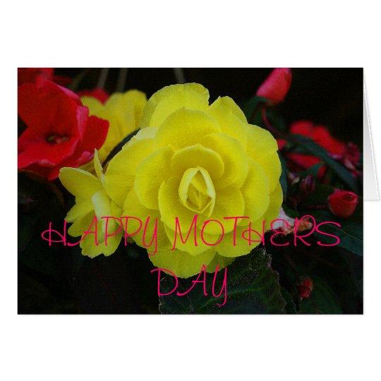 Floral arrangement card