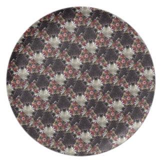 Floral Arrangement Collection plate