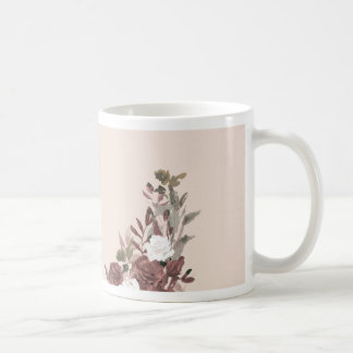Floral Arrangement in Pink and Mauve Coffee Mug
