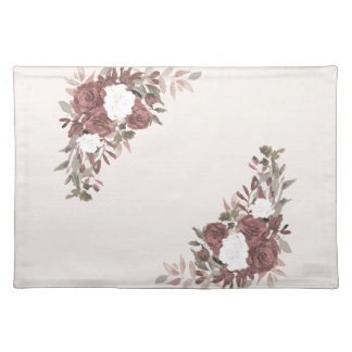 Floral Arrangement in Pink and Mauve Placemat