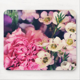 Floral arrangement mouse pad