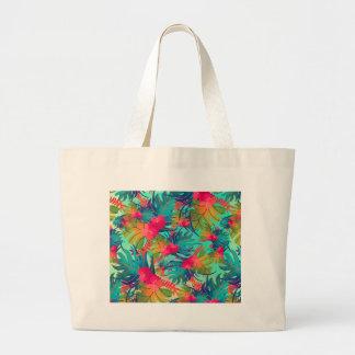 floral art-01 large tote bag