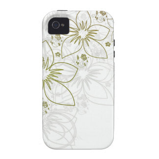 Floral Art iPhone 4/4S Case