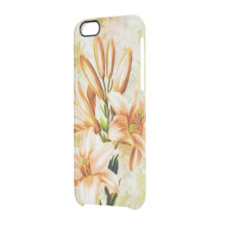 Floral, Art, Design, Beautiful, New, Fashion Clear iPhone 6/6S Case