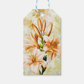 Floral, Art, Design, Beautiful, New, Fashion, Crea Gift Tags