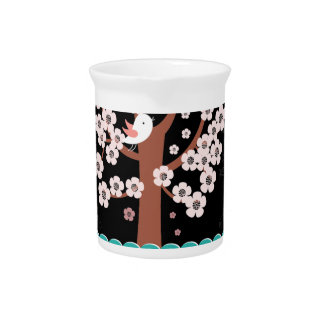 Floral, Art, Design, Beautiful, New, Fashion Pitcher