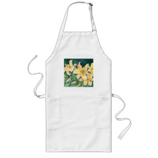 Floral Art Long Apron