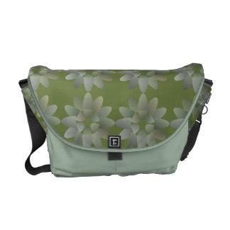 Floral Art Messenger Bag