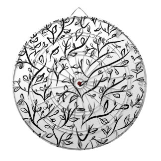 floral art pattern texture design dartboard