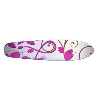 Floral Art Skate Deck
