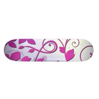 Floral Art Skateboard