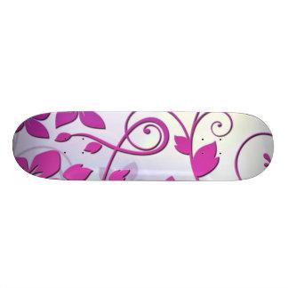 Floral Art Skateboard Decks