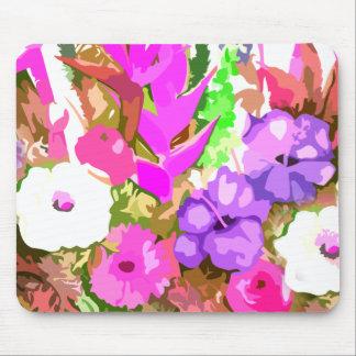 Floral Artistic Design Mouse Pad