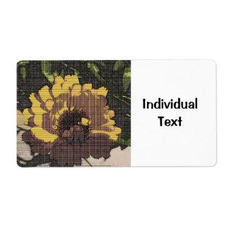 Floral Artstudio 24216 Shipping Label