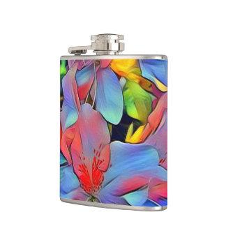 Floral ArtStudio wonderful flowers Hip Flask